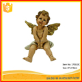 Allibaba China Wholesale Small Cupid Polyresin Statue Resin Figurine For Garden Decoration