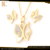 shell pendant elegant butterfly gold plated fashion jewelry sets china mainland