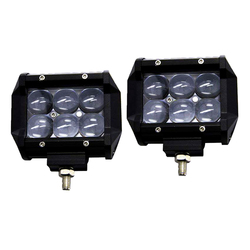 Wholesale Waterproof Offroad 4x4 Truck ATV Car Driving 4D Lens 18W LED Work Light Bar