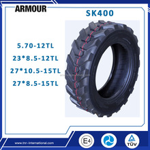 High quality China armour brand sk400 5.70-12TL 23*8.5-12 27*10.5-15 27*8.5-15