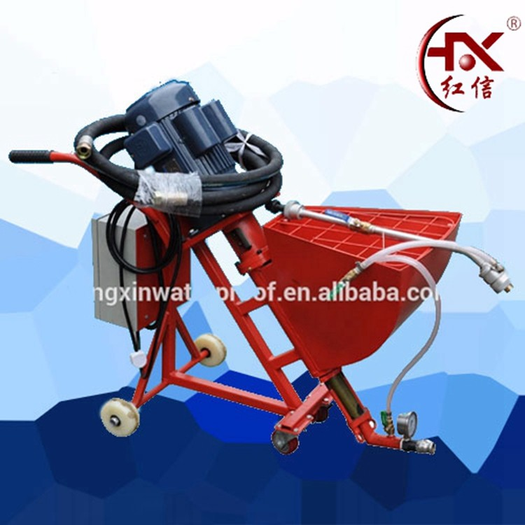 HX-760 Automatic Wall Cement Plastering Concrete Injection Machine