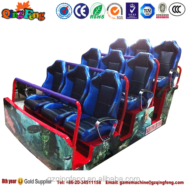 Guangzhou Qingfeng 5d cinema chairs supplier of motion chairs