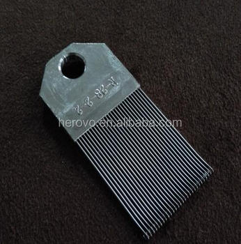 Part of Warp Knitting Spare Parts----Reed--R-28-2-2