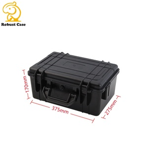 IP67 Waterproof Hard Plastic Equipment Case for Electronics with Custom Foam