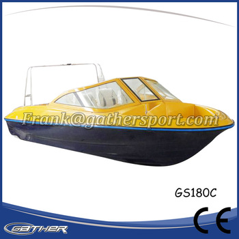 Gather Chinese manufacturer safe and strong Military Fiberglass Speed Boat