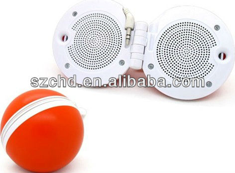 foldable mini portable speakers for mp3/4 20gb,30gb,40gb and 60gb