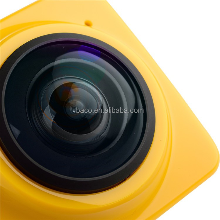Sport action camera wifi Cube 360 Action Camera Panorama Camera 360
