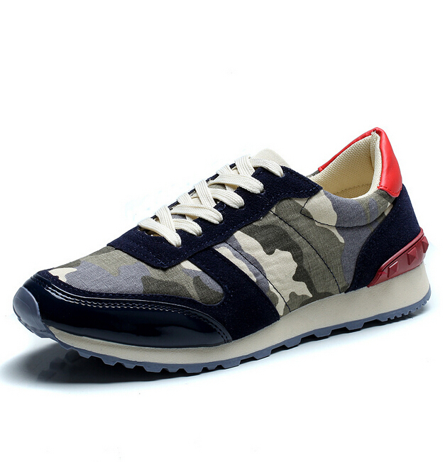 D16373A 2015 men's camouflage fashion shoes , sports casual shoes
