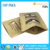 Custom printed FDA approval zipper kraft paper food grade stand up bags