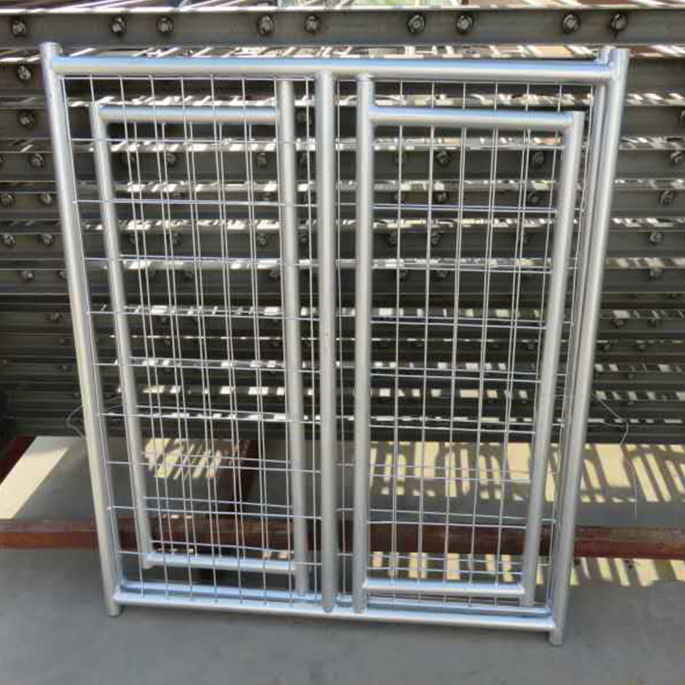 Galvanized Welded mesh Dog Cages / Dog Kennels wholesale
