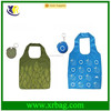 Manufacture provide fashion new waterproof printed silicon foldable shopping bags