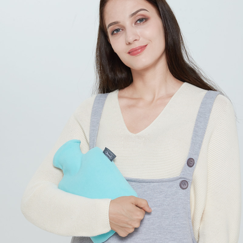 borth Small lady hot water bottle 1.0L Water-filling Hot-water Bag