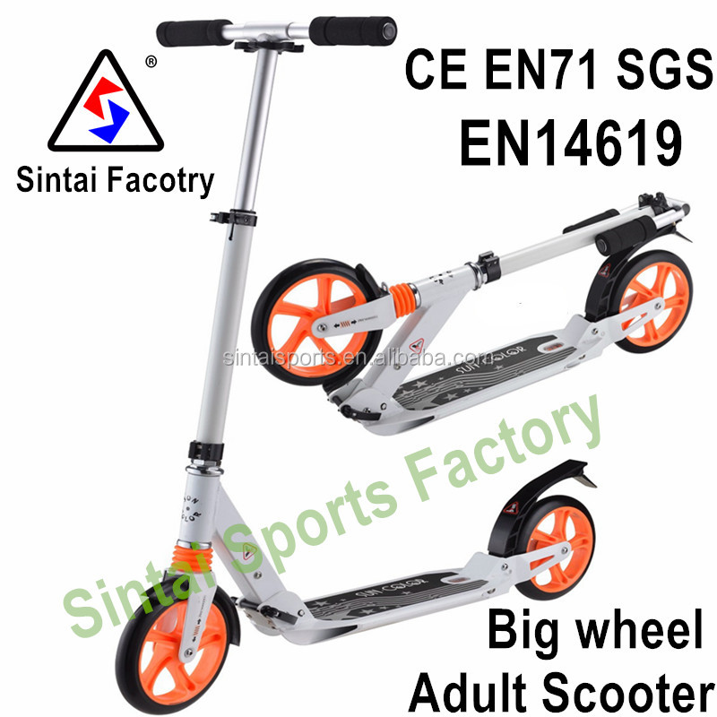200mm Wheels Adult Kick Scooter for city