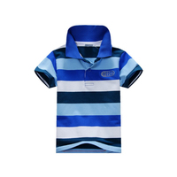 Wholesale Smart Children Stripy Short Sleeve