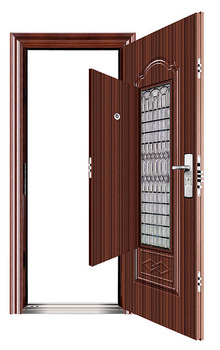 Main door models single door design safety door design for Single main door designs