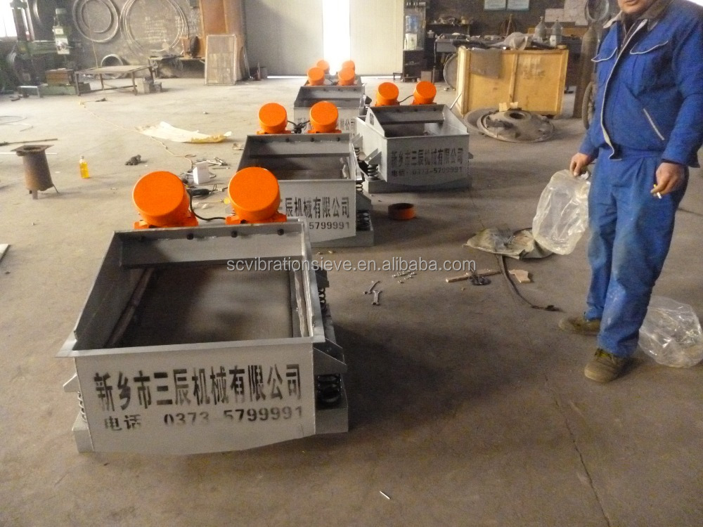 Upper vibration mode Linear Vibrating Screen Sieve machine