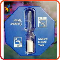 Promotion Custom Sand Timer/ Desktop Decorations Colored Glass Hourglass
