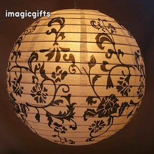 Indoor Decorationm Cheap Irregular Ribbon Paper Craft Lantern