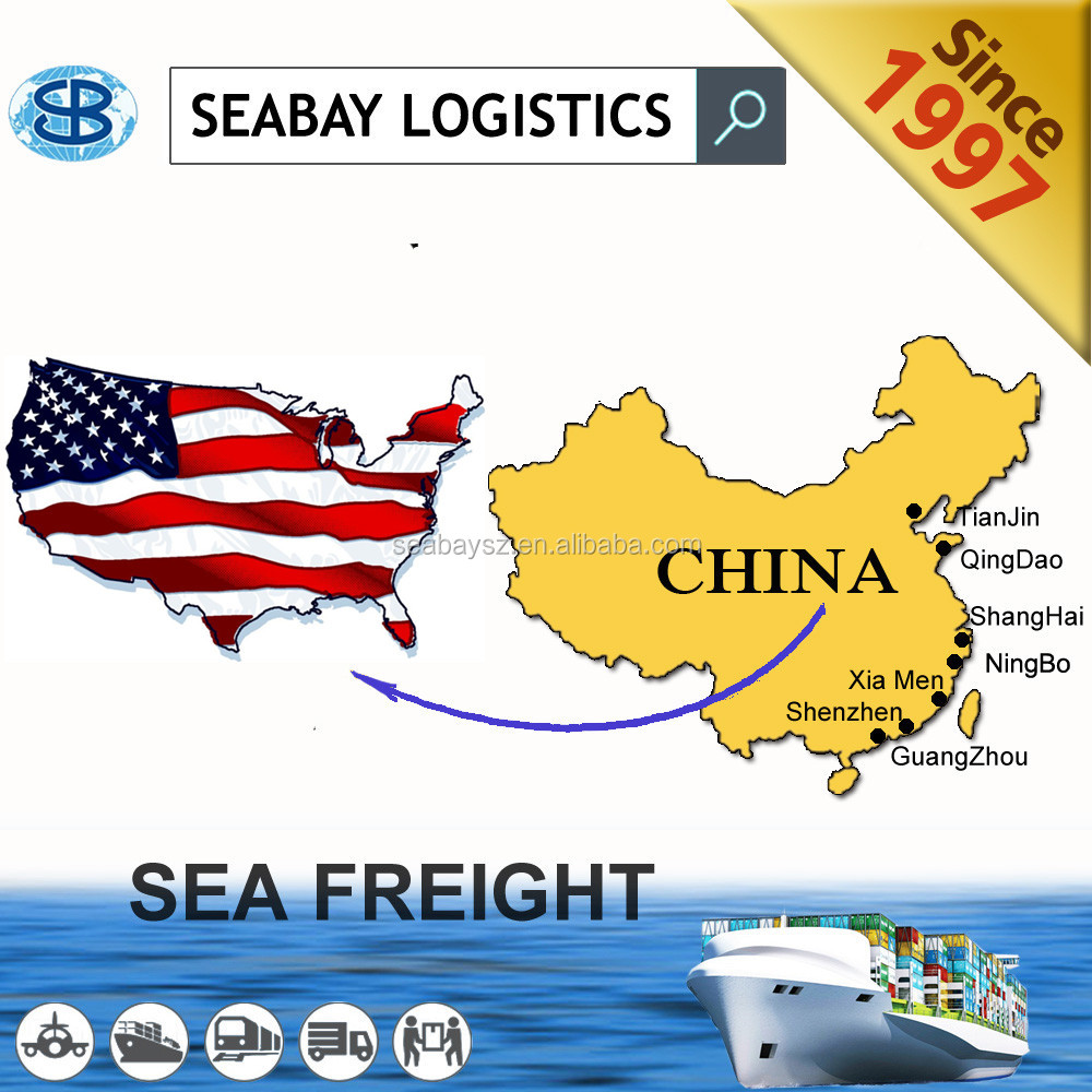 Shipping freight service from China to Oakland/Seattle/San Francisco