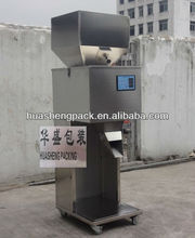 Small size weigh and filling machine for coffee