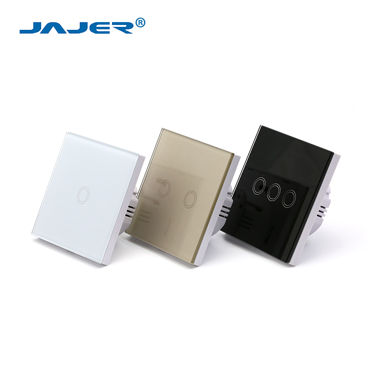 Jajer smart wall switch for light touch button switch touch screen power switch
