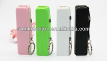 2013 hot sales universal kabo 2600mah mini perfume power bank