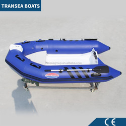 CE certificate 3m PVC inflatable dinghy with fiberglass floor