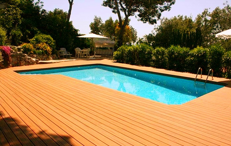 high quality wpc outdoor decking wall panel for sale