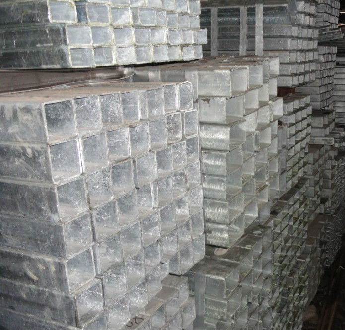 Cold dip galvanized square/rectangular steel tube/galvanized hollow Section tube(Q235 Q345 Q195 S235JR S355JR ST37-2)