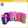 pink princess style cute children school water bottle thermal bag