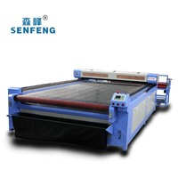 For Home Textiles & Automatic Feeding Co2 Laser Cutting Machine