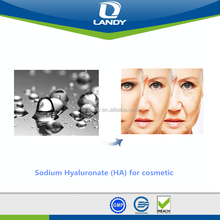 High purity Sodium Hyaluronate/Hyaluronic Acid cosmetic grade