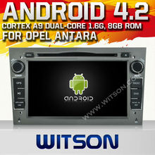 WITSON ANDROID 4.2 RADIO DVD OPEL ANTARA/CORSA/MERIVA 2006-2011 WITH A9 CHIPSET 1080P 8G ROM WIFI 3G INTERNET DVR