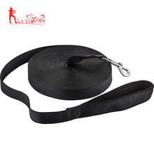 Amazon best selling puppy obedience recall training leash made from nylon material