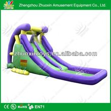 Popular Commercial cheap giant inflatable dry/wet slide