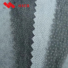 100% polyester Garment Double Dot Stitch-bond nonwoven Fusible Interlining Fabric