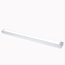 Commercial Batten Type Lighting Fixtures Classroom Surface Mounted Linear Ceiling Led wrap Light