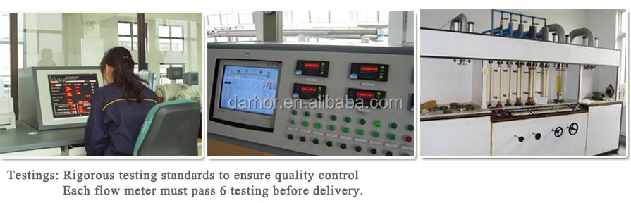 Darhor DH1000 series high quality electromagnetic intelligent flowmeter