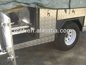 heavy duty off road luxury camper fold trailer