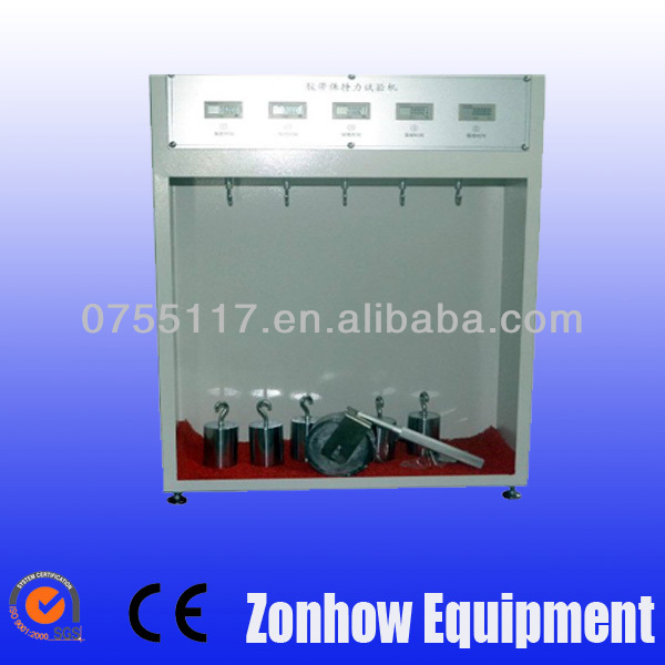 adhesive tape retention test machine