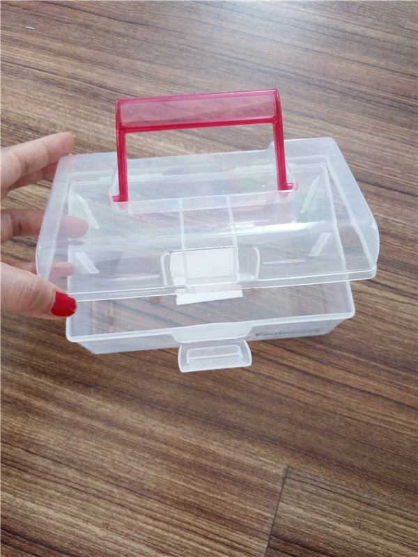 PP plastic transparent medical tooling container