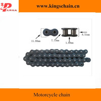 High quality black motor accessories 4 riveted motorcycle chain 428/428H
