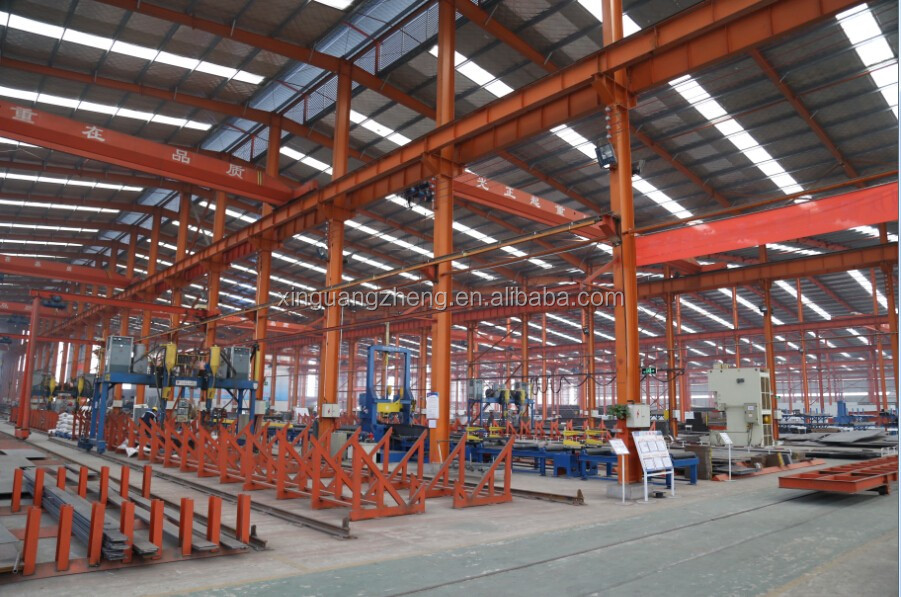 pre engineered fabricated steel structure workshop buildings