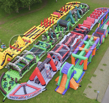 Gaint adult inflatable obstacle course ,obstacle course inflatable for adult