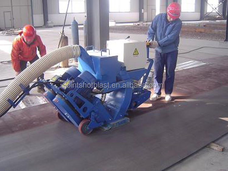 automatic pavement sand blasting machine for sale/concrete surface shot blasting machine