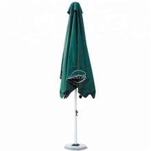 4*4m/5*5m Outdoor dark green patio center post square parasol sun patio umbrella
