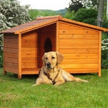 Factory hot selling good quality large wooden dog kennel pet house