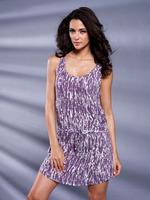 Sexy ladies nightgown , summer chemise , with elegant print