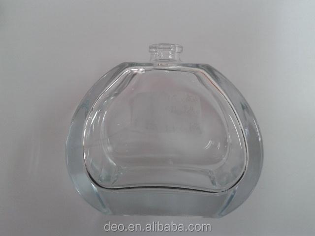 glass empty perfume 100 ml bottle