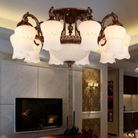 Contemporary North american cast aluminum silver chandeliers lightings